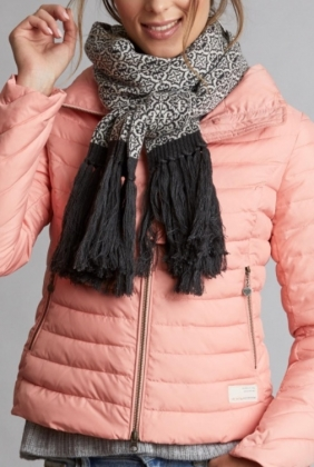 Lovely Scarf, Almost Black