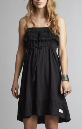 Singoala-la Dress, Almost Black