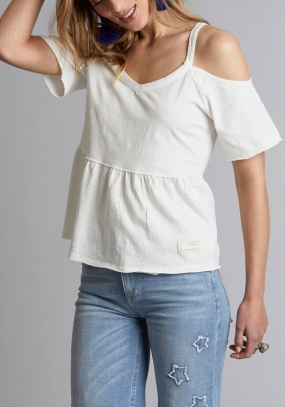 POWER LOVER TOP, OFF WHITE