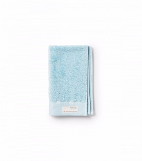 SUNDAY MORNING GUEST TOWEL,LIGHT TURQUOISE