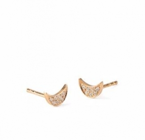 Luna Sparkle Earstick Gold Plated