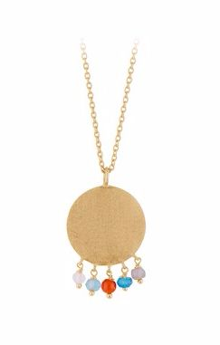 Dayglow Necklace Gold Plated