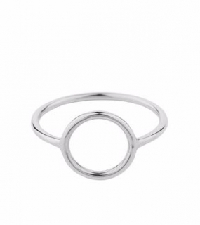 Halo Ring Small Silver