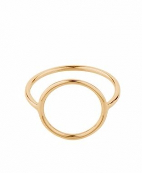 Halo Ring Gold Plated