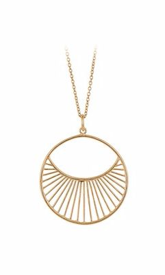 Daylight Short Necklace Gold Plated