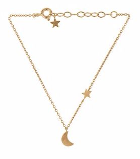 Luna Star Bracelet Gold Palted