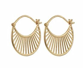 Daylight Earrings Gold Plated
