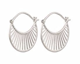 Daylight Earrings Silver