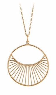 Daylight Necklace Gold Plated