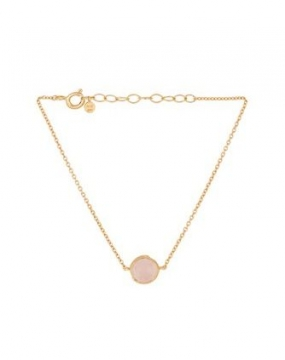 Aura Rose Bracelet, Gold Plated