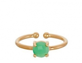 Moss Ring, Gold Plated