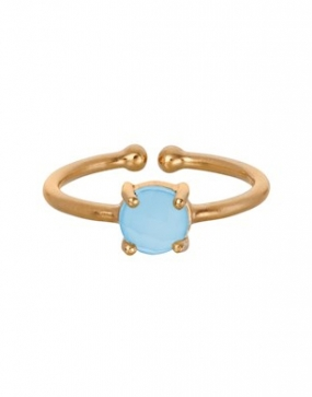Glacier Ring, Gold Plated