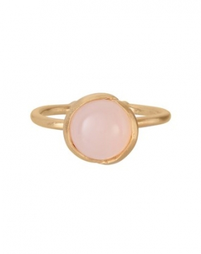 Aura Rose Ring, Gold Plated