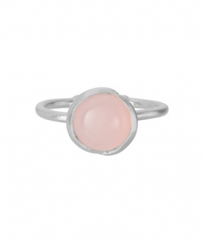 Aura Rose Ring, Silver