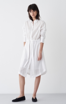 DRESS JAMINA, WHITE