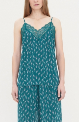 Demi Camisole, Forest Green