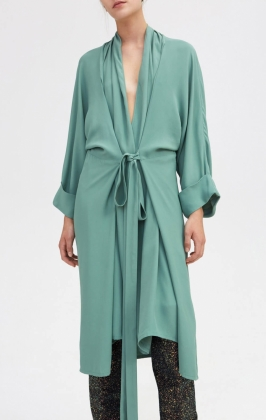 Mabel Dress, Winter Green