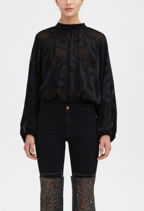 Amoda Blouse, Black
