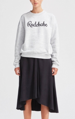 Rodebabe Sweatshirt, Grey
