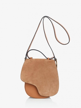 CARRARA BAG, SUEDE/VACCHETTA