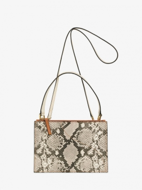 LUCCA BAG, Grey/Terra/Ice Printed Snake