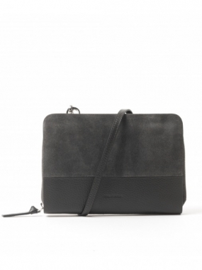 GALAX EVE BAG SUEDE, ANTRACITE