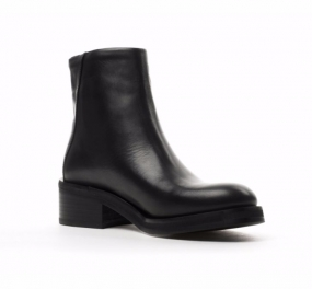 District Zip Boot Black