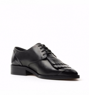 Prime Fringe Shoe Black