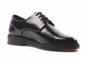 Border Dandy Derby Shoe Black