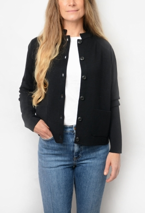 DELL CARDIGAN, BLACK