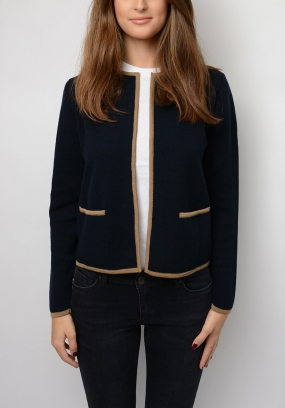 CHANTAL CARDIGAN, NAVY