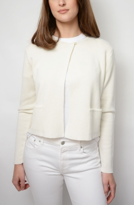 ADRIA CARDIGAN, OFF WHITE