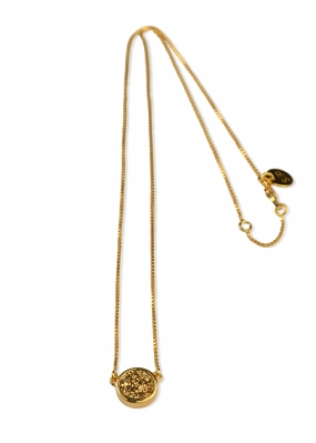 FRANCES DRUZY NECKLACE GOLD, GOLDEN
