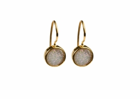 FRANCES DRUZY EARRINGS GOLD, MOON