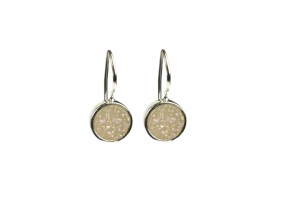 FRANCES DRUZY EARRINGS SILVER, MOON
