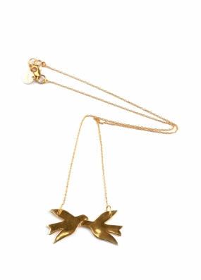 BIRDY NECKLACE GOLD