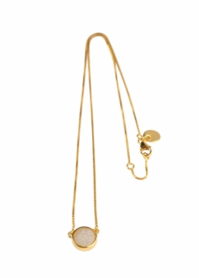 FRANCES DRUZY NECKLACE GOLD, MOON