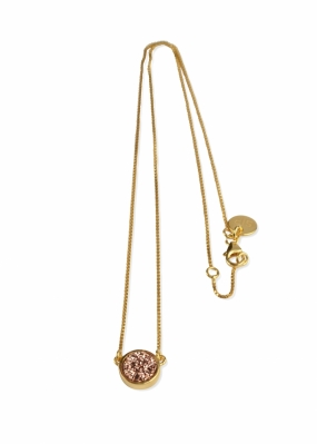 FRANCES DRUZY NECKLACE GOLD, ROSE