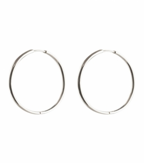 Beloved Big Hoops, Silver
