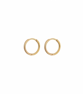 Beloved Small Hoops, Gold
