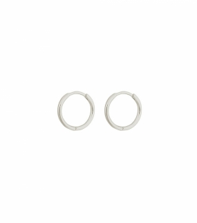Beloved Small Hoops, Silver
