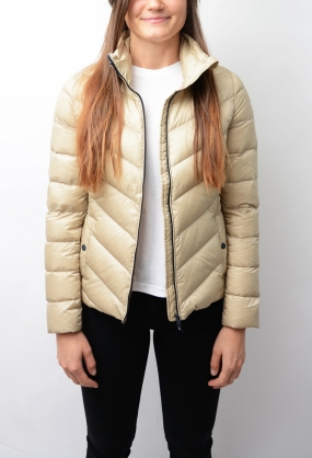 Callie Lw Down Jacket Feather Gray