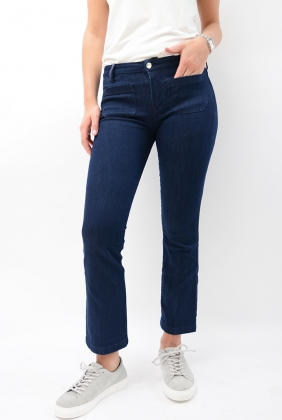 Como Rw Slim Flare Cropped Tina Denim