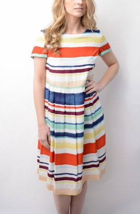 Agaath Dress Lee Stripe