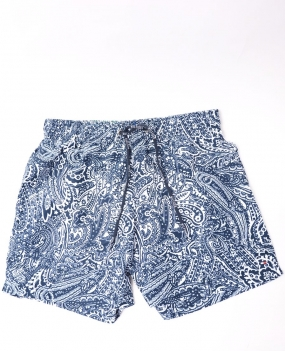 Paisley Printed Trunk Blue