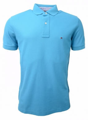 Performance Polo s/s Bluejay