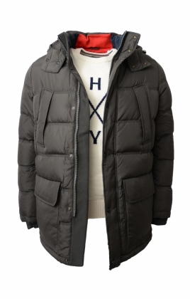 Tommy Down Parka, Green