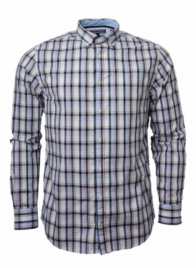 Sunland Checked Shirt, Estate Blue
