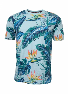 Paradise Print Fashion, Cool Blue