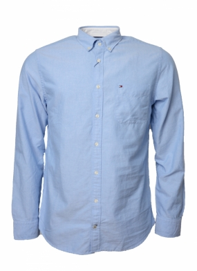 Engineered Oxford Shirt, Light Blue